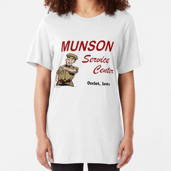 Munson Service Center Slim Fit T-Shirt