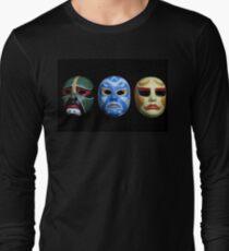 3 ninjas masks Long Sleeve T-Shirt