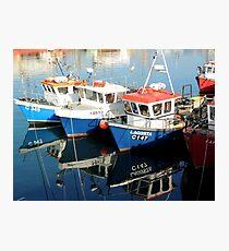 Fishing Boats at Kilmore Quay  Photographic Print