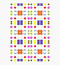Funny pattern :D Photographic Print