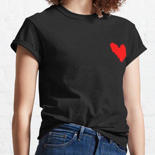 Undertale Coeur T-shirt classique