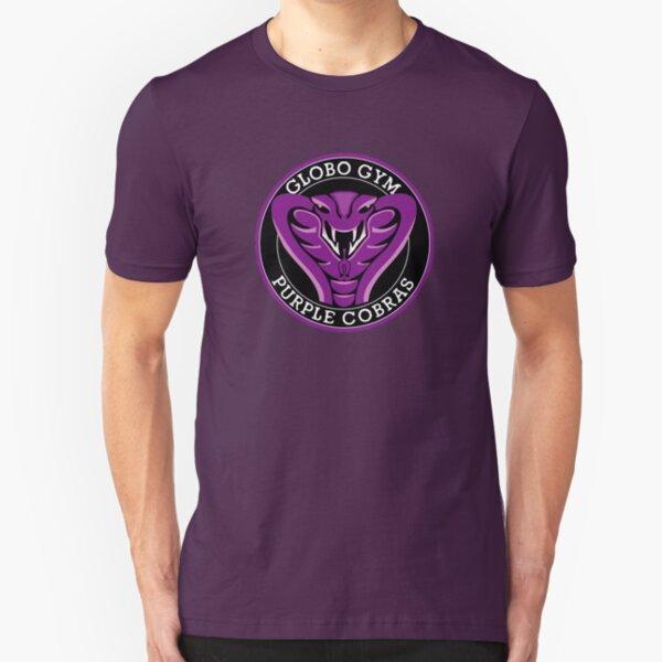 Globo Gym Purple Cobras Slim Fit T-Shirt