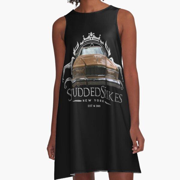 Studdedspikes by Djamee™ Silver Seal Car A-Line Dress