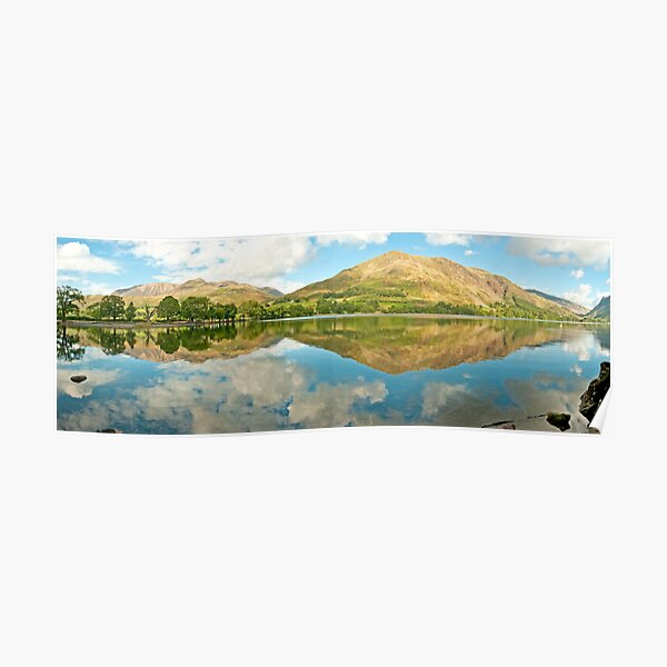 Buttermere (Panorama)  Poster