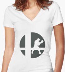 Little Mac - Super Smash Bros. Women's Fitted V-Neck T-Shirt