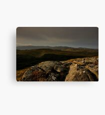 Bluestacks From The South Canvas Print