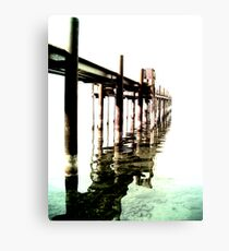 Pier to Nowhere Canvas Print