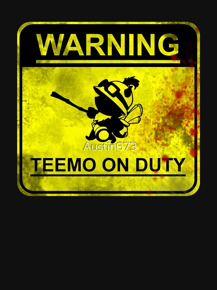 Warning: Teemo On Duty  | Unisex T-Shirt