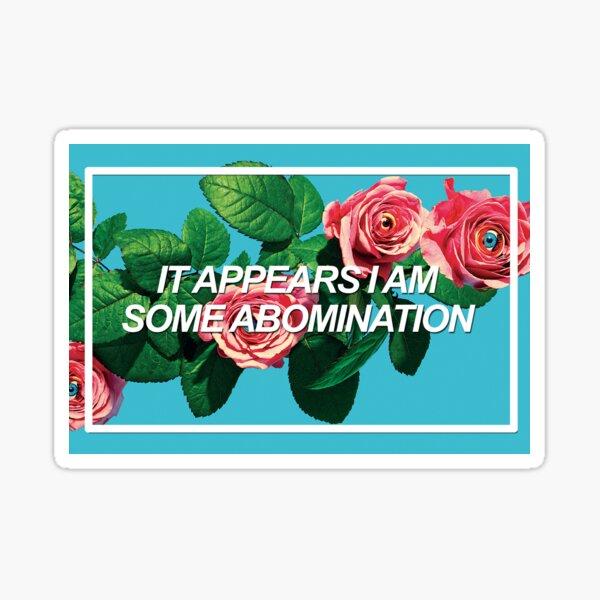 Abomination Sticker