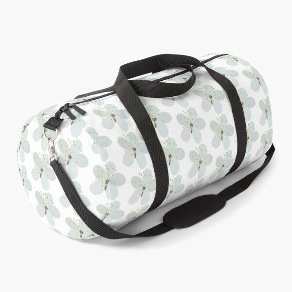 White Blossom Duffle Bag
