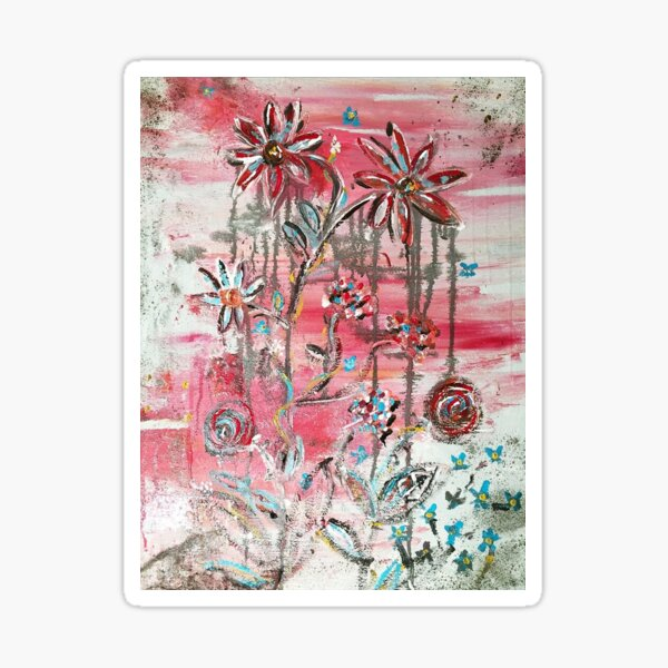 Blooming feelings Sticker