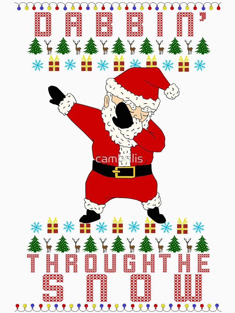 Dabbing Santa | Unisex T-Shirt
