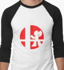 Megaman - Super Smash Bros. Men's Baseball ¾ T-Shirt
