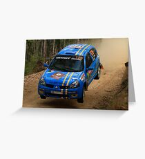 This Is Gonna Hurt - Guy Tyler- FIA World Rally Championship Australia 13.09.2013 Greeting Card