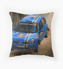 This Is Gonna Hurt - Guy Tyler- FIA World Rally Championship Australia 13.09.2013 Throw Pillow