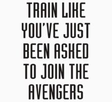 Train like - Avengers | Organic T-Shirt