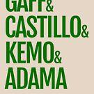 Gaff & Castillo & Kemo & Adama - Green  by olmosperfect