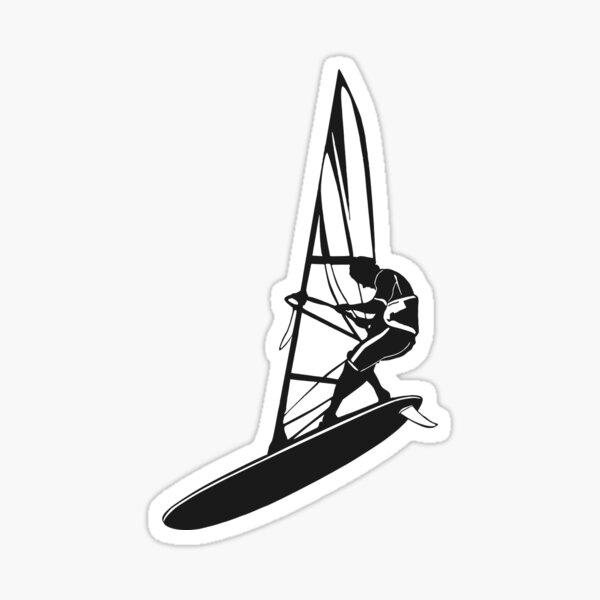 Windsurf Sticker