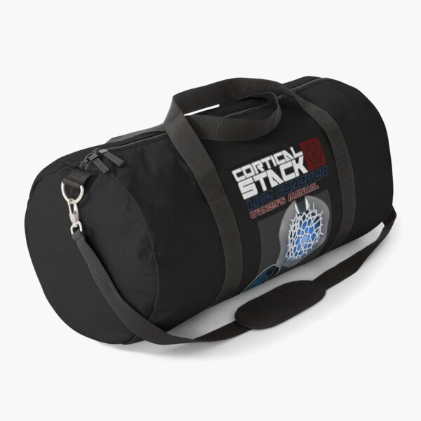 Cortical Stack Owners Manual Altered Carbon Duffle Bag