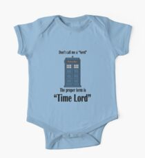 """The Term is """"Time Lord"""" One Piece - Short Sleeve"""
