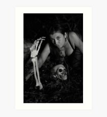 First spooky images of the season with Beth 2013 Art Print
