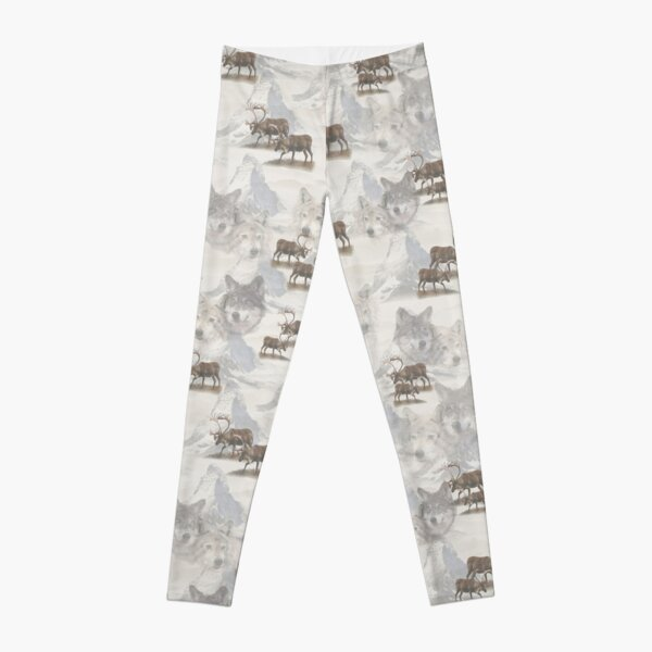 Canadian Wildlife Leggings