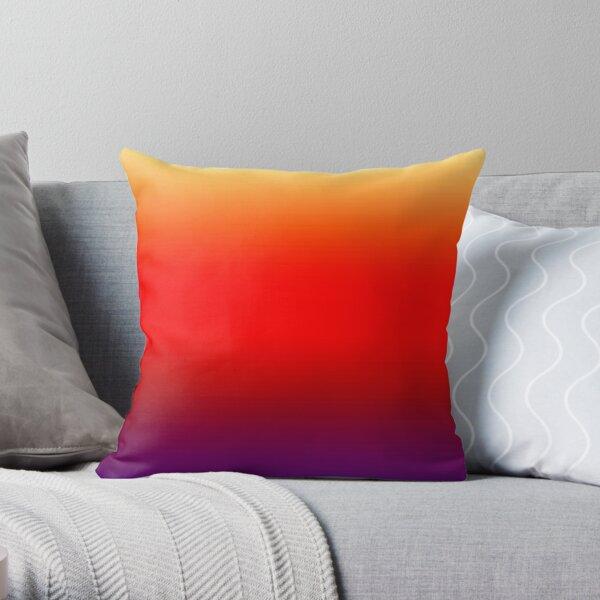 Skies - Sunset Throw Pillow
