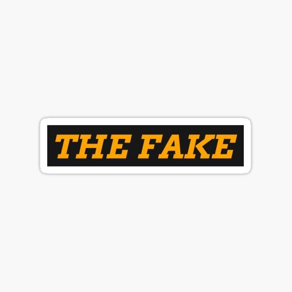 THE FAKE Sticker