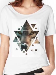 Animal Art - Wolf Women's Relaxed Fit T-Shirt