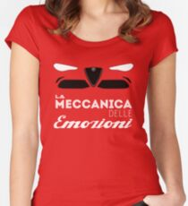 mechanical emotions Women's Fitted Scoop T-Shirt