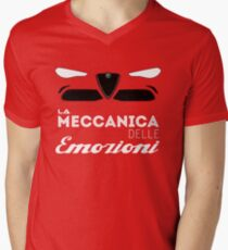 mechanical emotions Men's V-Neck T-Shirt