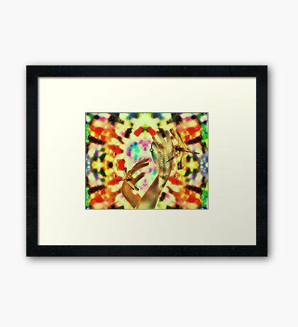 Loulou Framed Print
