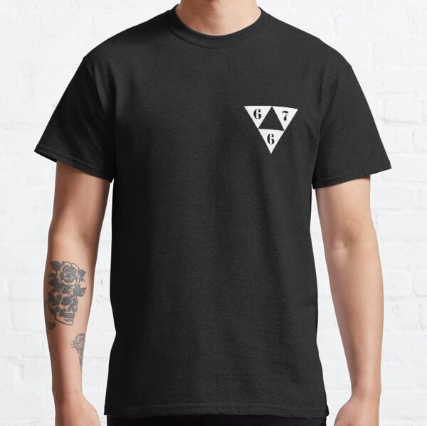 667 bon logo T-shirt classique