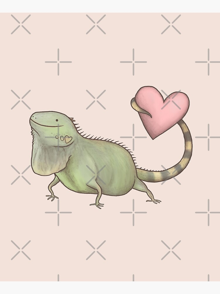 Iguana Love You by SophieCorrigan