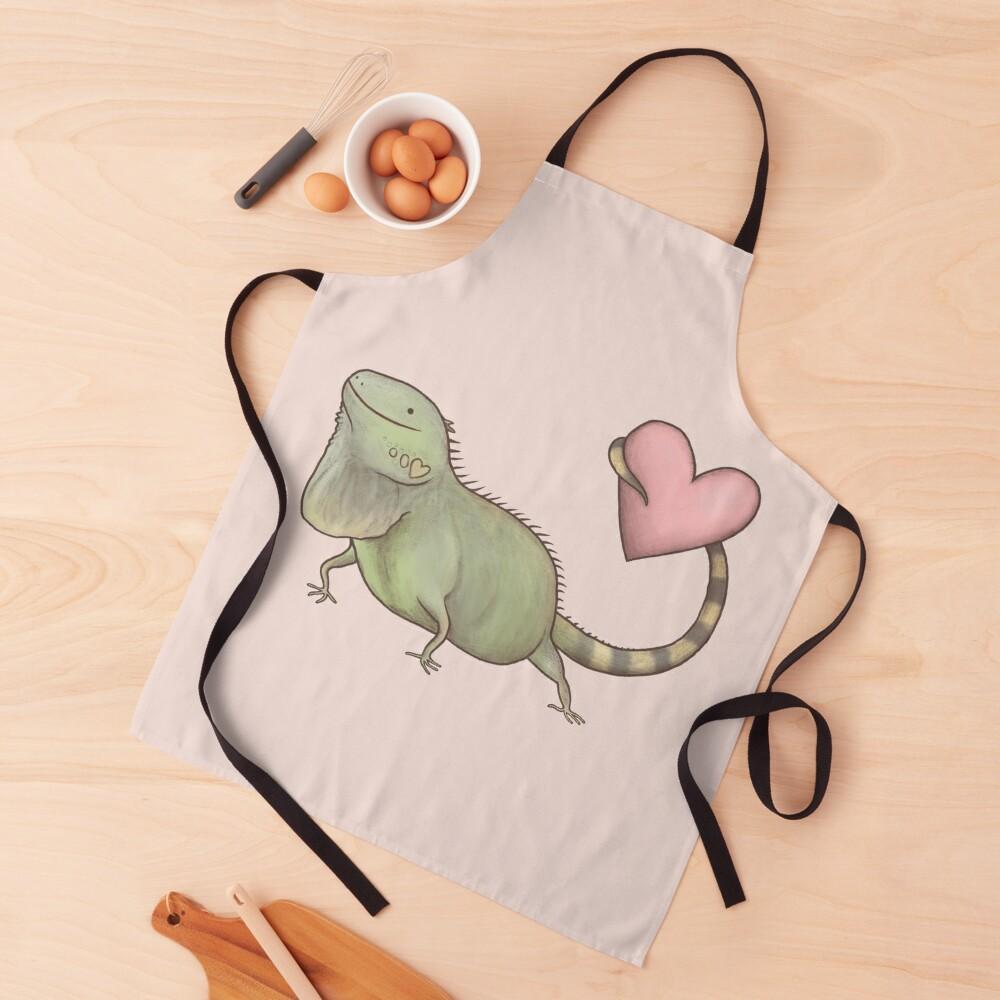 Iguana Love You Apron