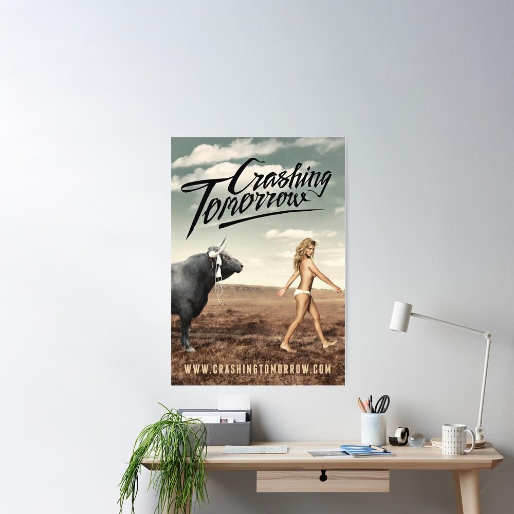 Crashing Tomorrow 'White Bikini' Poster Poster