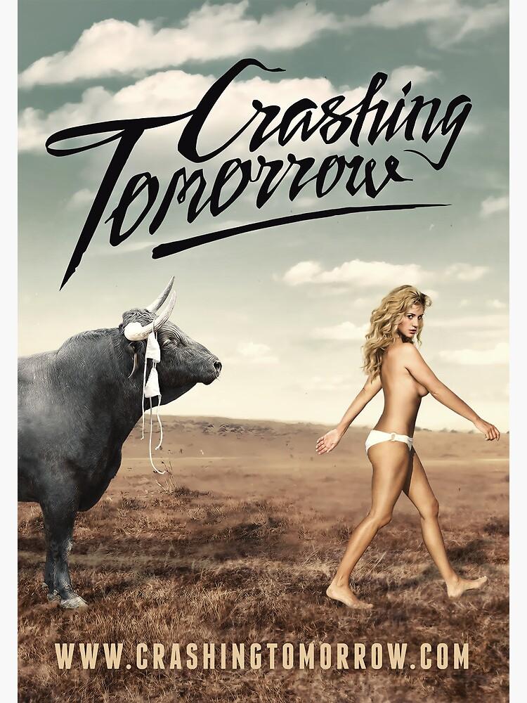 Crashing Tomorrow 'White Bikini' Poster by CrashingTomorro