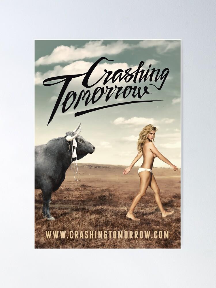Alternate view of Crashing Tomorrow 'White Bikini' Poster Poster