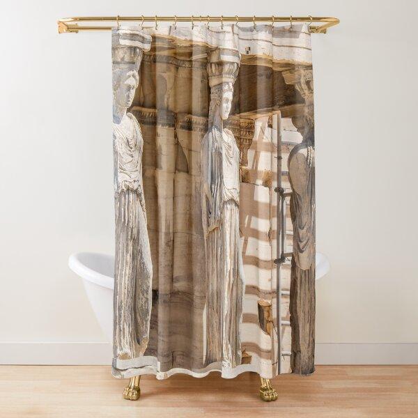 Caryatids Shower Curtain