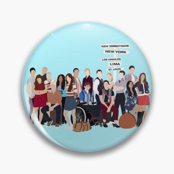 Glee characters Pin