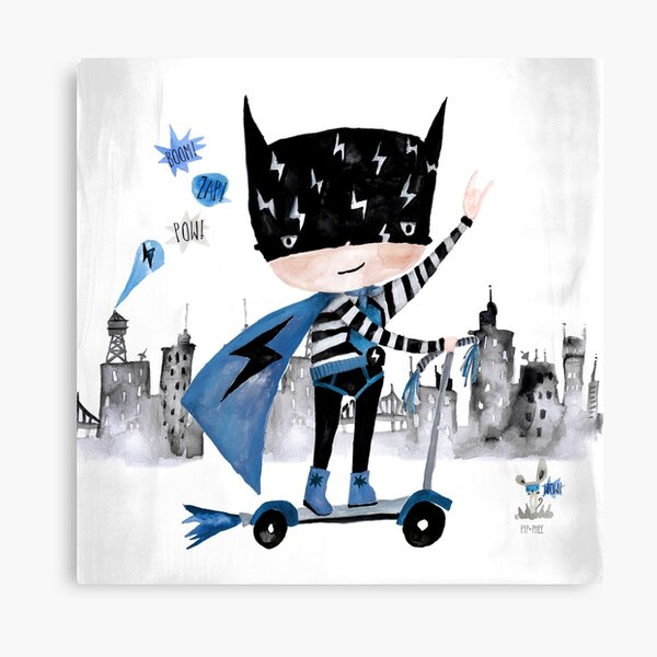 Pip+Phee Superdude Art Print Canvas Print