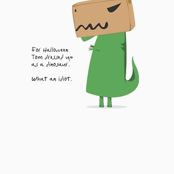Tom T-Rex: Halloween by DieselLaws
