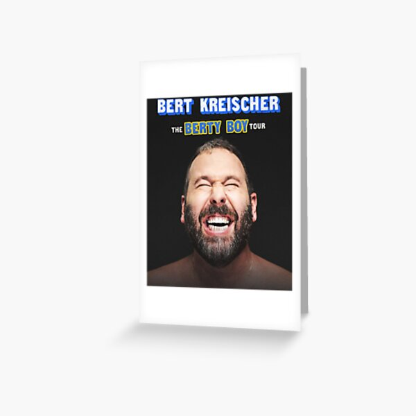Bert Kreischer Greeting Cards Redbubble My longtime buddy bert kreischer of the travel channel's trip flip is releasing his first book about his party animal history. redbubble