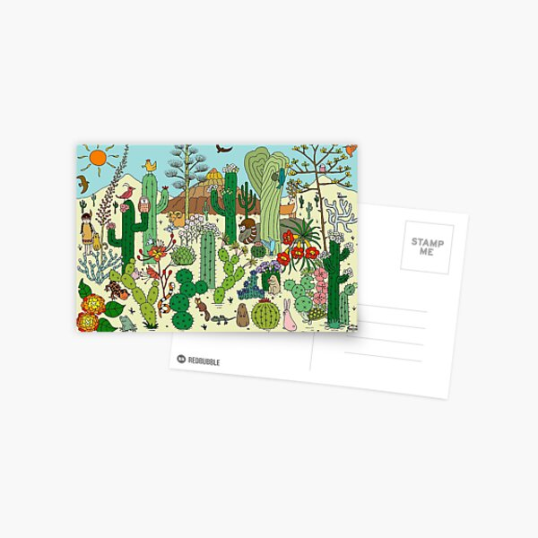 Arizona Desert Museum Postcard