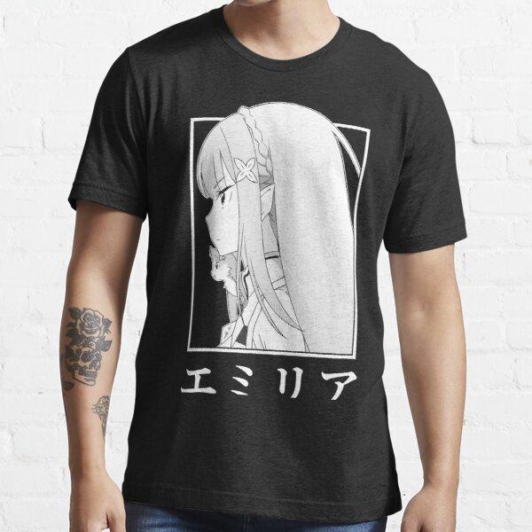 Emilia V4 [Re:Zero] Essential T-Shirt