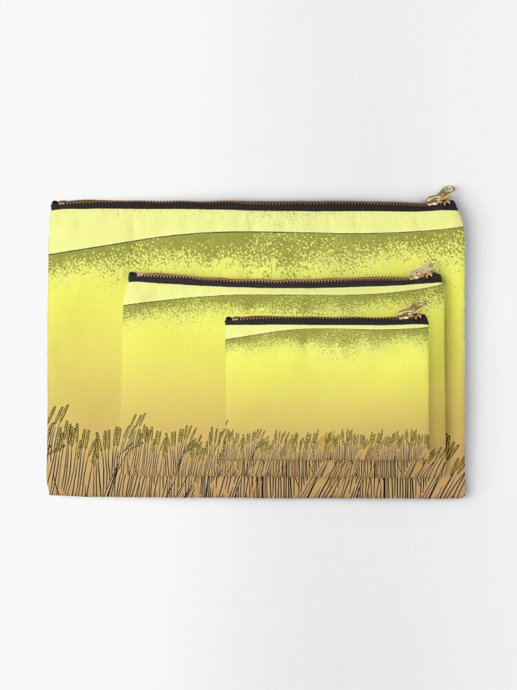 Alternate view of  alone or with your friends Zipper Pouch