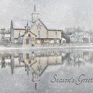 Seasons Greetings - Star Barn by Lori Deiter