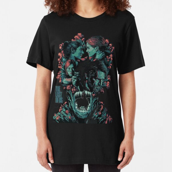 The Last Of Us Family Slim Fit T-Shirt