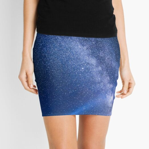 stars in the night sky Mini Skirt
