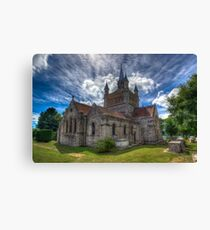 St Mildreds Church IOW Canvas Print